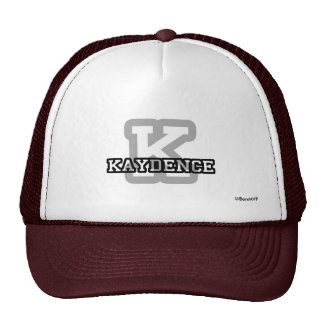 K is for Kaydence Trucker Hats