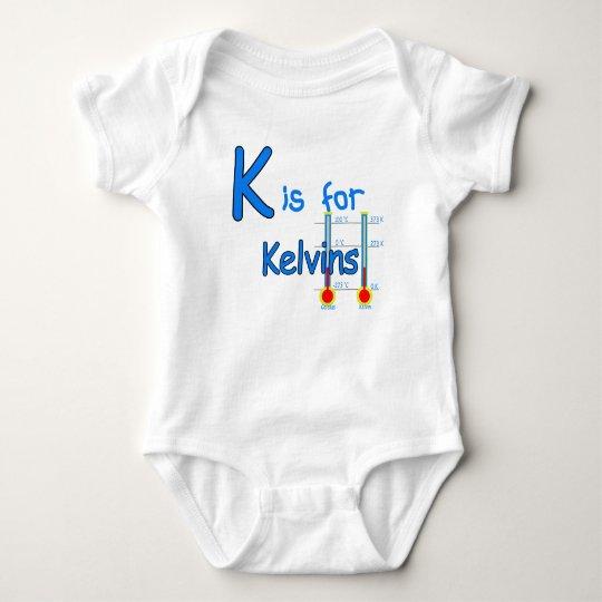 K is for Kelvins Baby Bodysuit