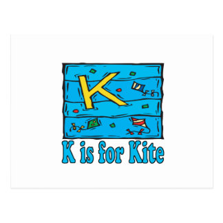 K Is For Kite 4 Postcard