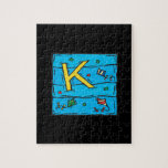 K Is For Kite Jigsaw Puzzles