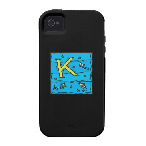 K Is For Kite Vibe iPhone 4 Case