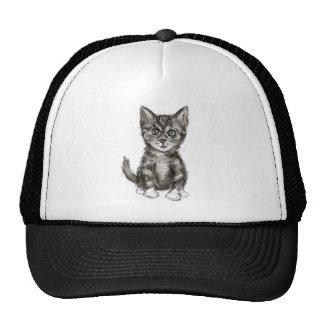 K is for Kitten Trucker Hat