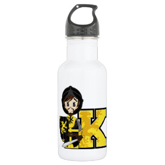 K is for Knight Water Bottle