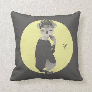 K is for Koala in a Kokoshnik Pillow