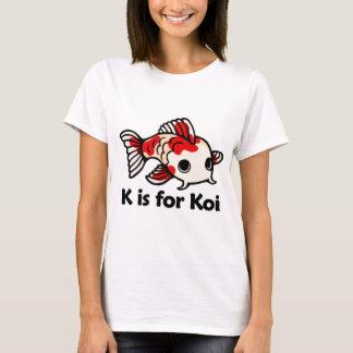 K is for Koi T-Shirt