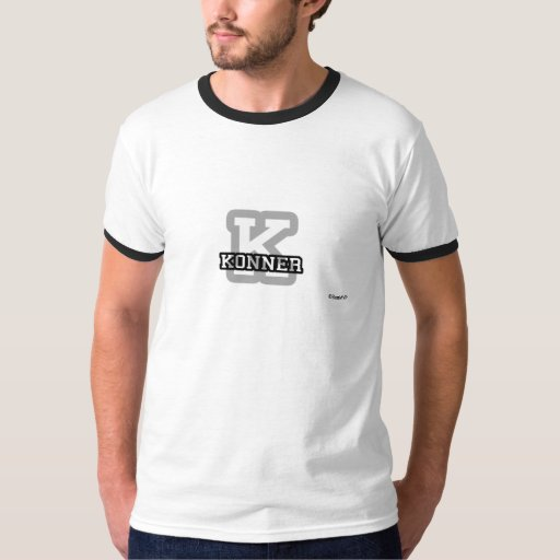 K is for Konner T Shirt