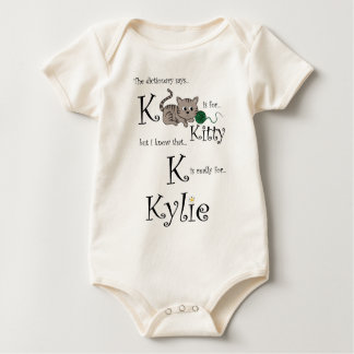 K is for Kylie, Kitty Tee