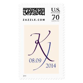 K&J Monogram Postage