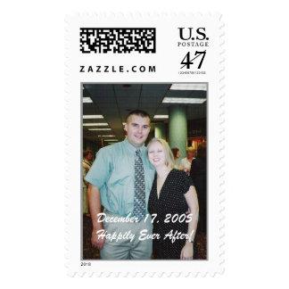 k&k, December 17, 2005Happily Ever After! Postage