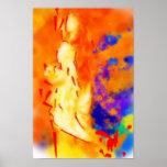 K&K - Mujer del fuego Poster