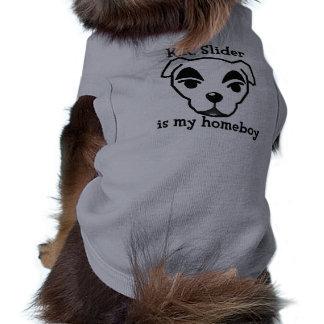 K.K. Slider ice my homeboy travelled was died Doggie Tee Shirt