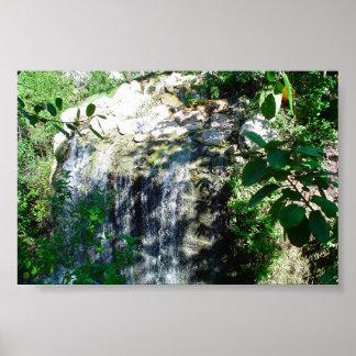 K&K - XCaret Waterfall Poster