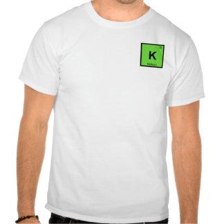 K - Kahului Maui Hawaii Chemistry Periodic Table T-shirt