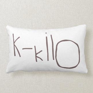 K - kilo NATO Pillow