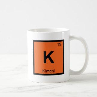 K - Kimchi Chemistry Periodic Table Symbol Coffee Mug