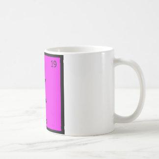 K - Kites Sports Chemistry Periodic Table Symbol Coffee Mug