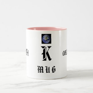 K, M U GS FROM, EARTH, COLLECTIONS Two-Tone COFFEE MUG