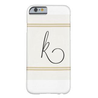 K Monogramed Iphone case