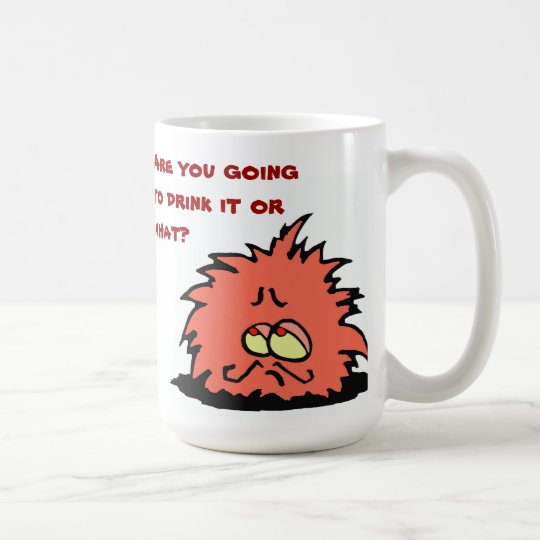k - Monsieur Puff Mug