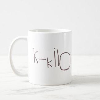 K - OTAN del kilo Taza De Café