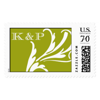 K&P Monogram stamp