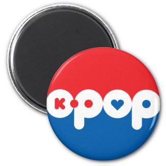 K-POP 01 2 INCH ROUND MAGNET