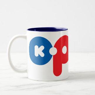 K-POP 01 Two-Tone COFFEE MUG
