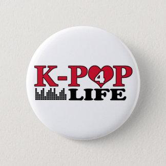 K-POP 4 LIFE PINBACK BUTTON