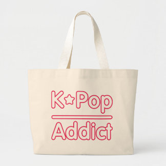 K-POP Addict Large Tote Bag
