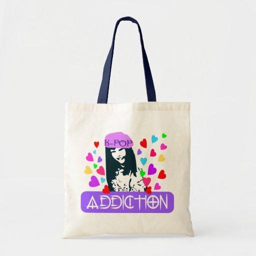 ╚»♪♥K-POP Addiction-Fabulous Budget Tote♥♫«╝ Budget Tote Bag