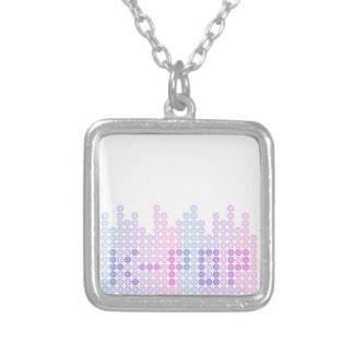 K-Pop Beats Silver Plated Necklace