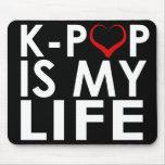 K-POP ES MI ♡ DE LA VIDA ALFOMBRILLAS DE RATÓN