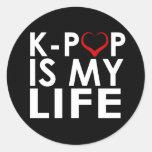 K-POP ES MI ♡ DE LA VIDA PEGATINAS