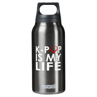 K-POP IS MY LIFE ♡ INSULATED WATER BOTTLE
