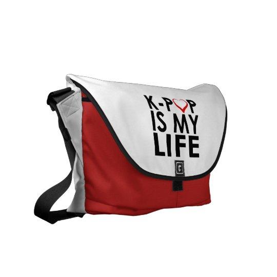 K-POP IS MY LIFE ♡ MESSENGER BAG