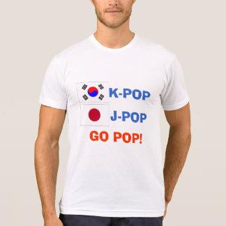 K-POP J-POP GO POP T-shirt