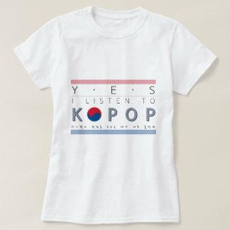 K-Pop lover Kpop listener basic tshirt