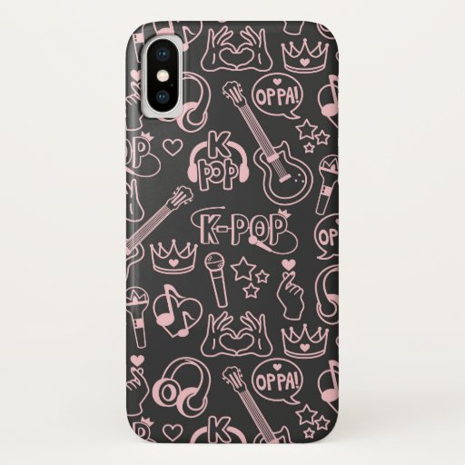 K-Pop | Music Idol Finger Heart 오빠 Phone Case