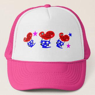 k pop took my heart trucker hat