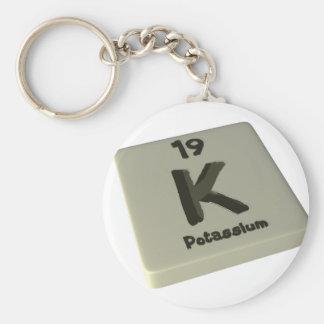 k Potassium Key Chain