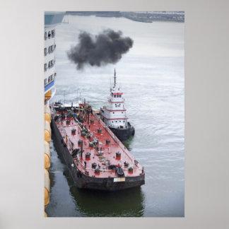 K-Sea Tug and Barge Poster