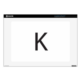 K DECAL FOR LAPTOP