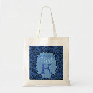 K - The Falck Alphabet (Blue) Tote Bag