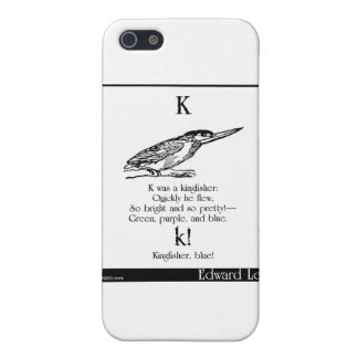 K was a kingfisher cover for iPhone SE/5/5s