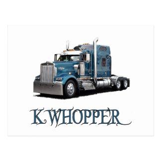 K Whopper Postcard