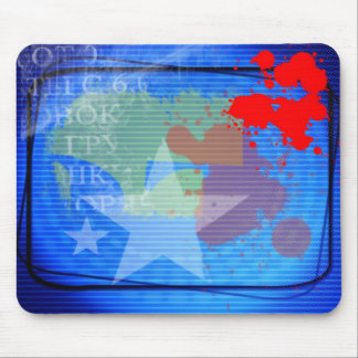 k_ world collection mouse pad