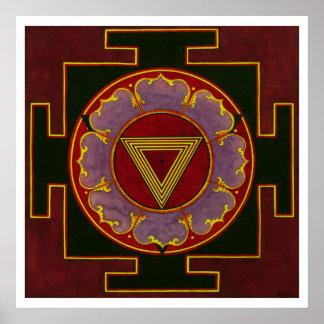 K Yantra posterali Print