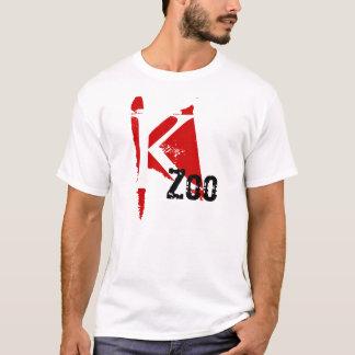 K Zoo Kalamazoo RED MARK DESIGN T-Shirt NICKNAME