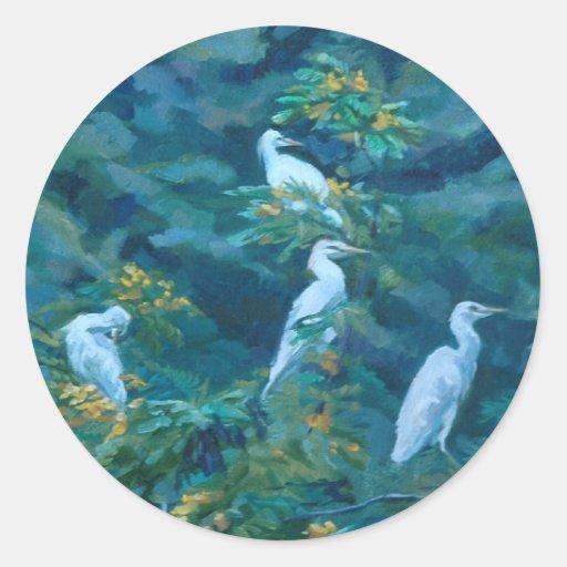 Ka'a'awa Classic Round Sticker