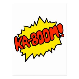 ¡'Ka-Auge cómico! ' Tarjeta Postal